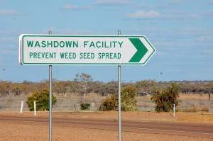 Wash facility sign